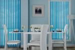 Avanti Blinds Vertical Dining Room