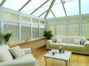 Conservatory Venetian Blinds